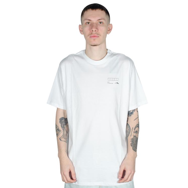 Camiseta Lakai Crossword Branca