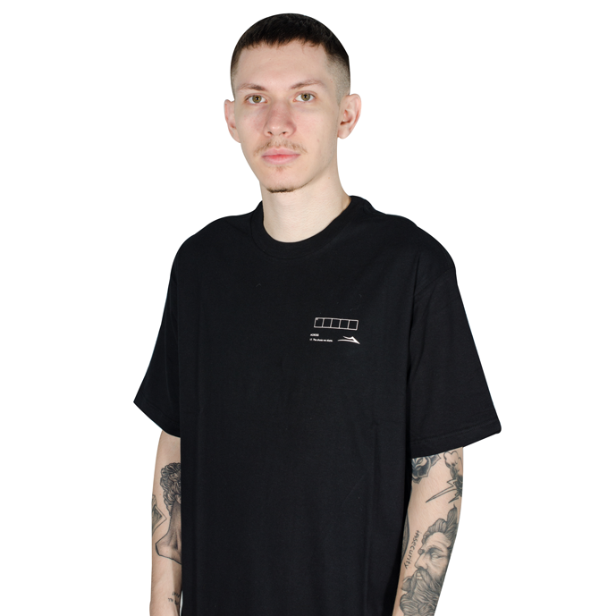 Camiseta Lakai Crossword Preta