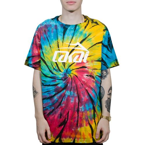 Camiseta Lakai Especial Tie Dye