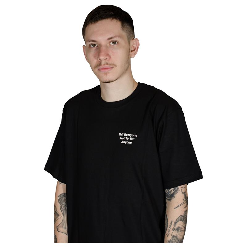 Camiseta Lakai Everyone Preta LKTS010010