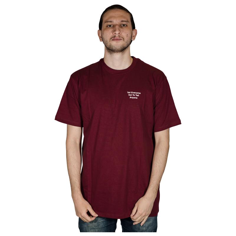 Camiseta Lakai Everyone Vinho LKTS010010