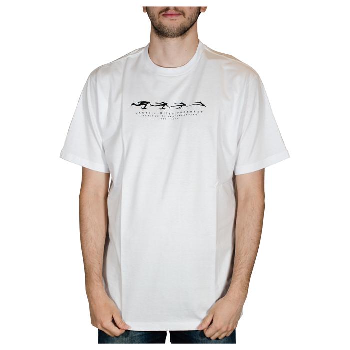 Camiseta Lakai Evolve Branca LKTS01000202