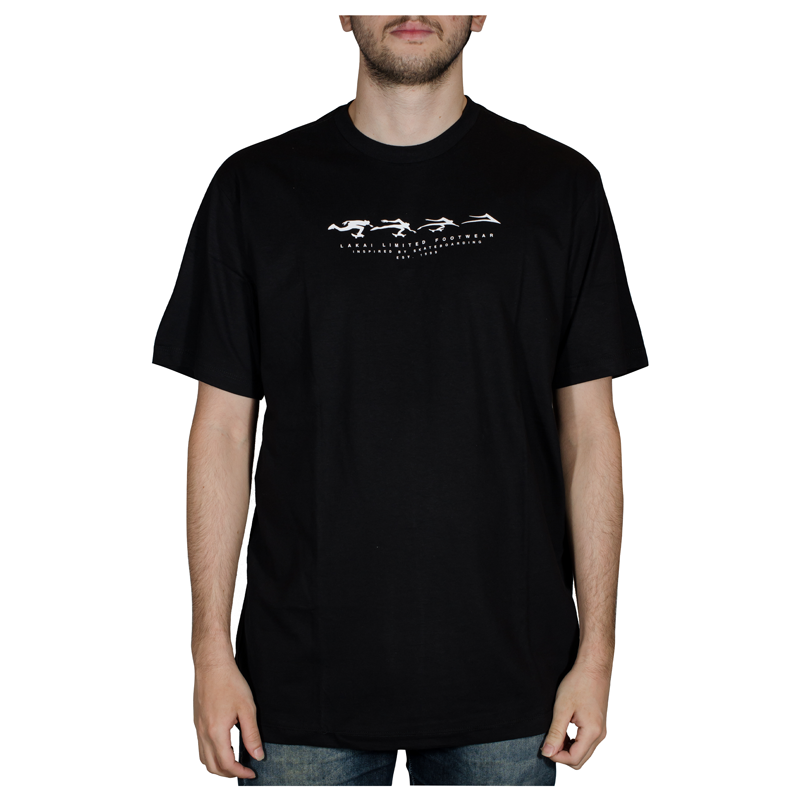 Camiseta Lakai Evolve Preta LKTS01000202