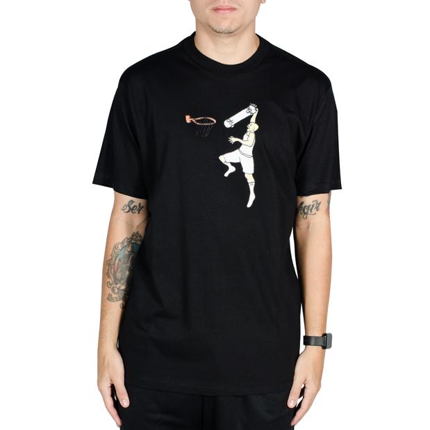 Camiseta Lakai Flare Jordan Preta