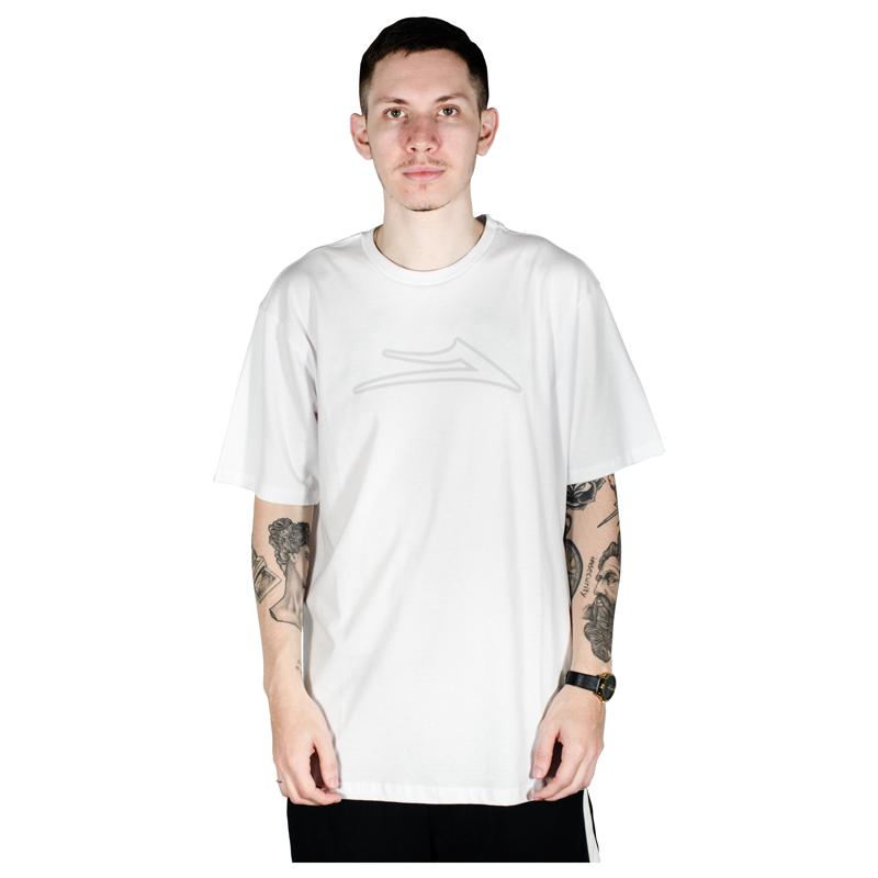 Camiseta Lakai Flare Outline Branca