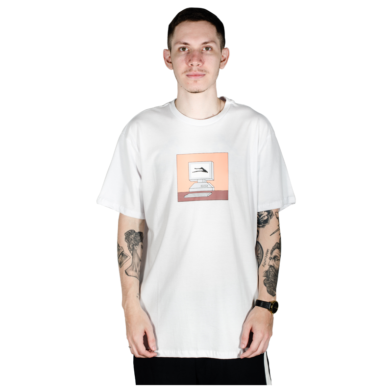 Camiseta Lakai MC PC Branca