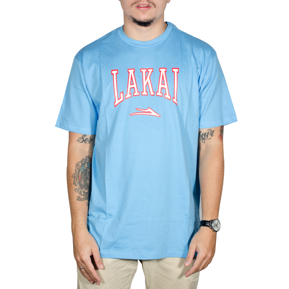 Camiseta Lakai Varsity Pacific Azul