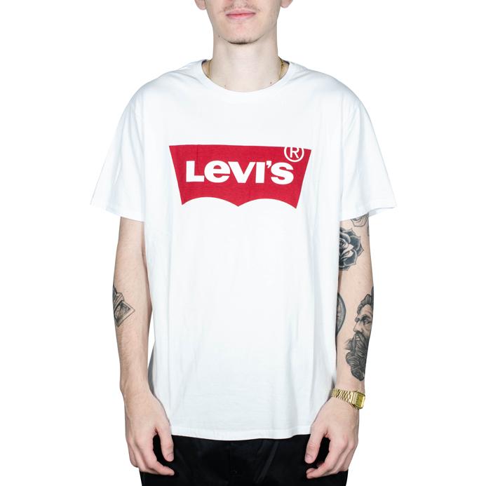 Camiseta Levis Logo Branca