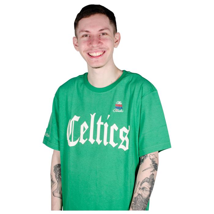 Camiseta Mitchell & Ness Boston Celtics Verde