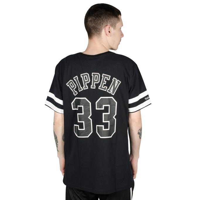 Camiseta Mitchell & Ness Chicago Bulls Preta