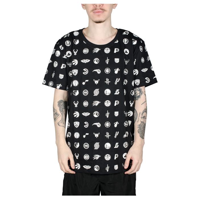 Camiseta NBA Full Print Preta