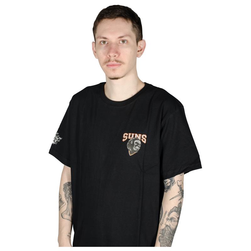 Camiseta NBA Phoenix Suns Mascote  Preta