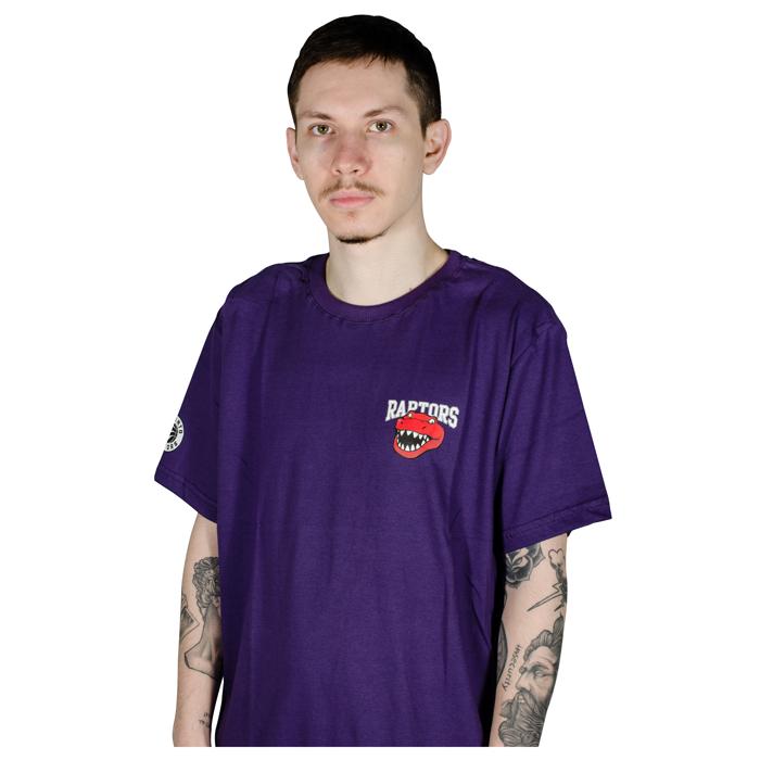 Camiseta NBA Toronto Raptors Mascote Roxa
