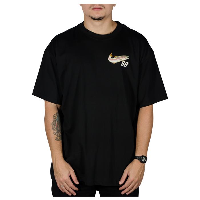 Camiseta Nike SB Daan Preta DD1294010