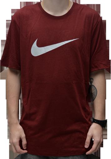 Camiseta Nike Sb Dry Bordo
