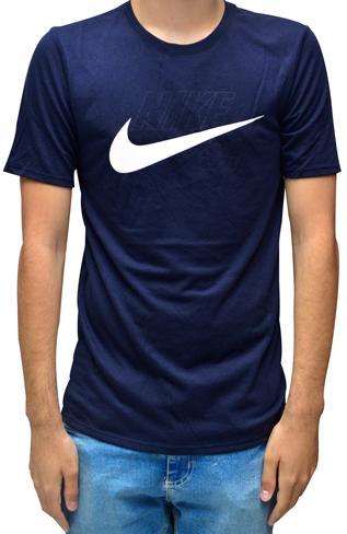 Camiseta Nike Sb Dry Fit Azul Marinho