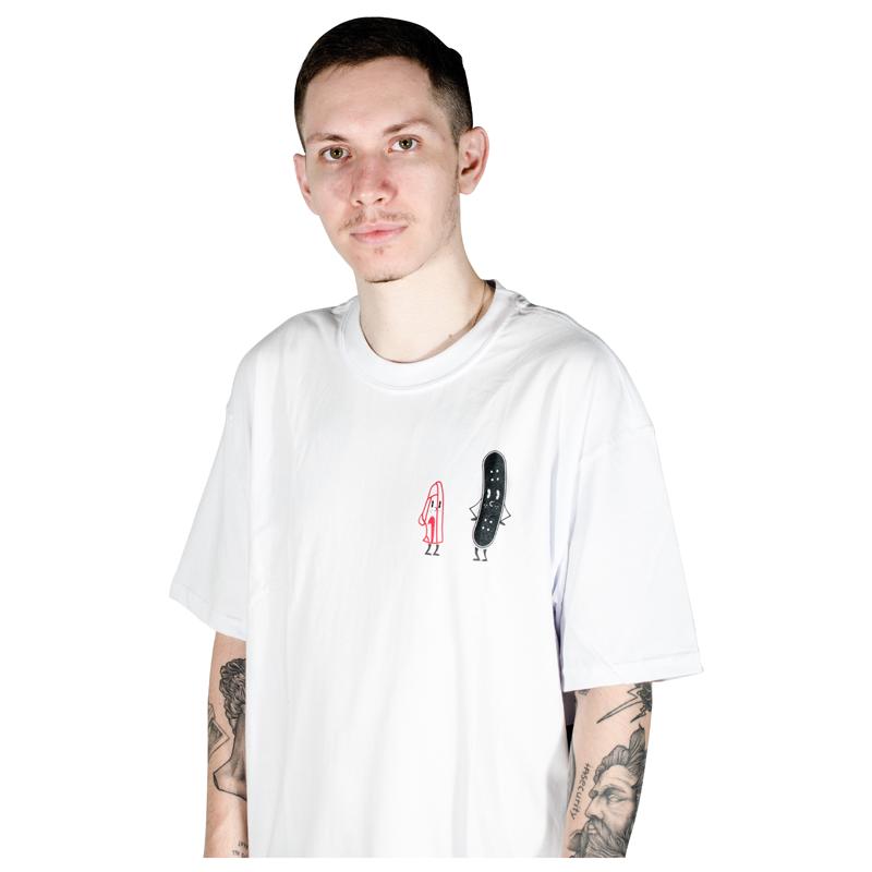 Camiseta Nike SB Friends Branca