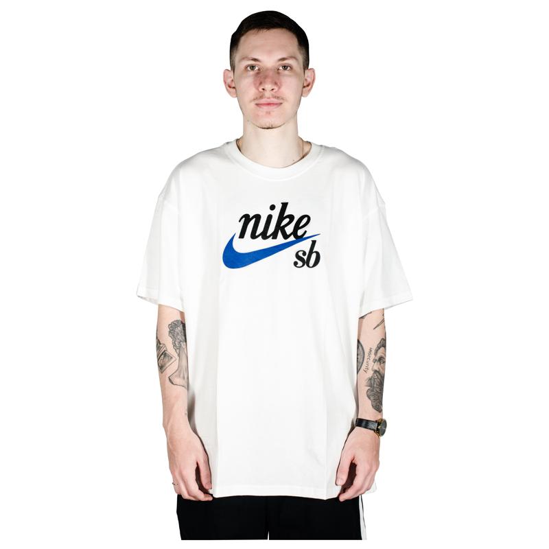 Camiseta Nike SB HBR Branca