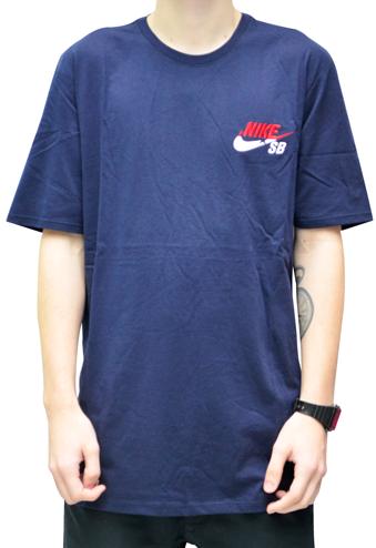 Camiseta Nike Sb Tee Azul Marinho