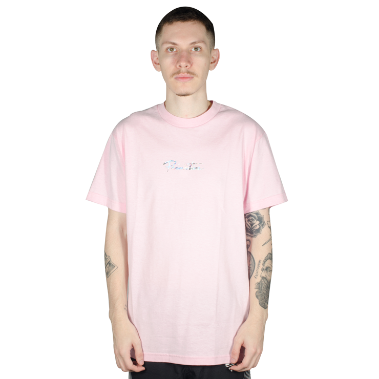 Camiseta Primitive Nuevo Hologram Foil Pink