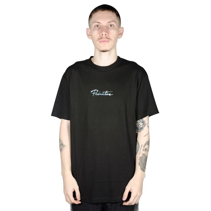 Camiseta Primitive Nuevo Hologram Foil Preta