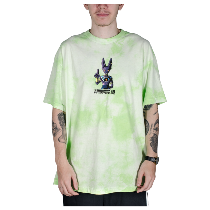 Camiseta Primitive x Dragon Ball Z Destroyer Washed II Tie Dye