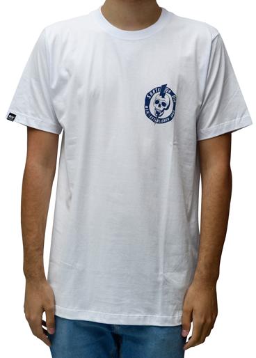 Camiseta Qix Skate Or Die Branca