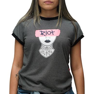 Camiseta Riot Especial Tattoo Grrrl
