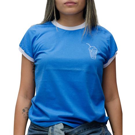 Camiseta Riot Milk Shake Azul