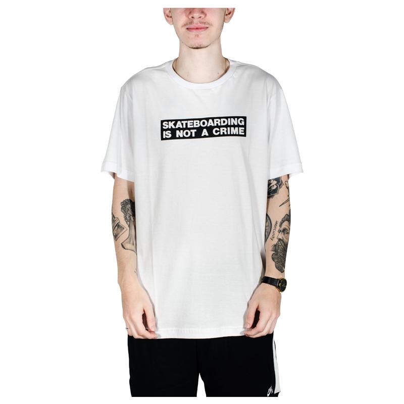 Camiseta Santa Cruz Crime Branca