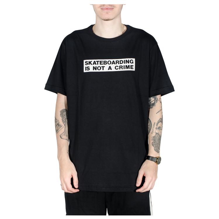 Camiseta Santa Cruz Crime Preta