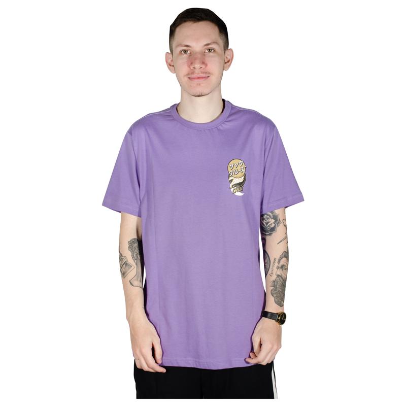 Camiseta Santa Cruz Group Dot Lilás