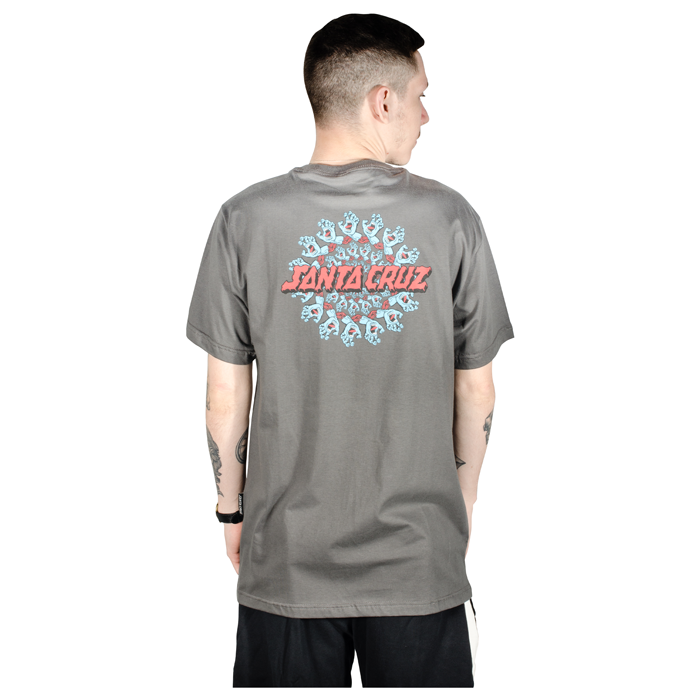 Camiseta Santa Cruz Mandala Hand Chumbo
