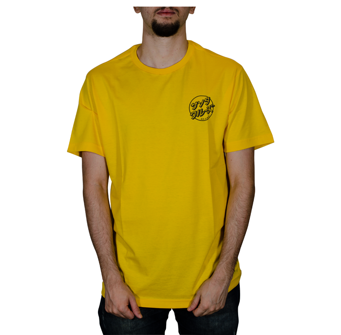 Camiseta Santa Cruz Off Hando Dot- Amarelo 50241012