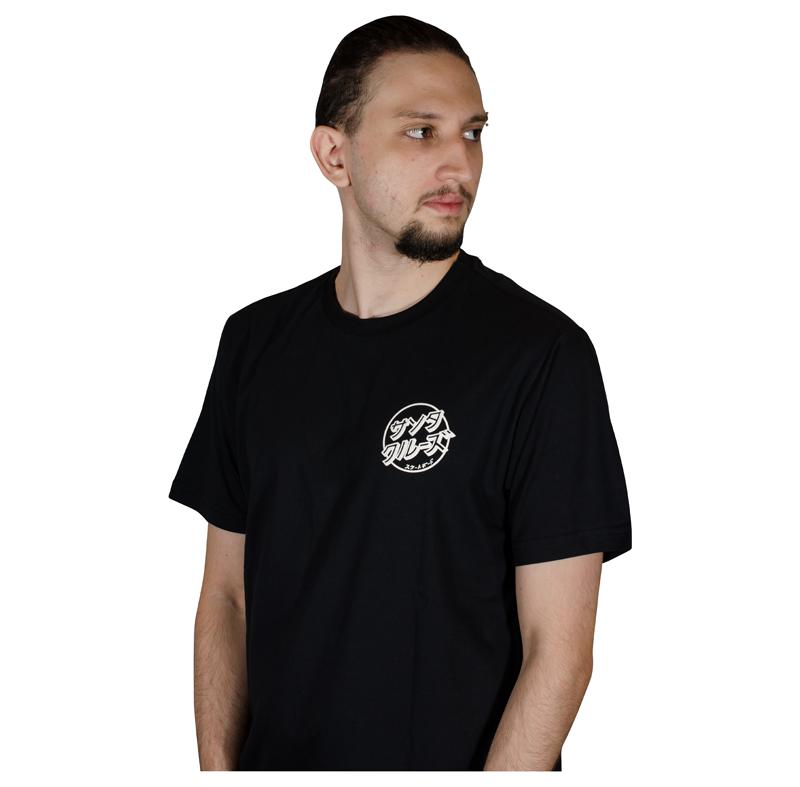 Camiseta Santa Cruz Off Hando Dot- Preto 50241012