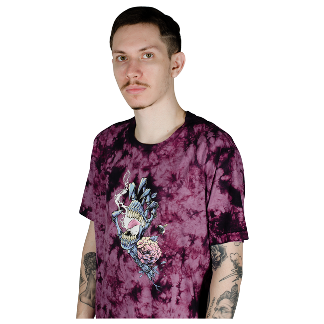 Camiseta Santa Cruz Ressurect Hand Tie Dye
