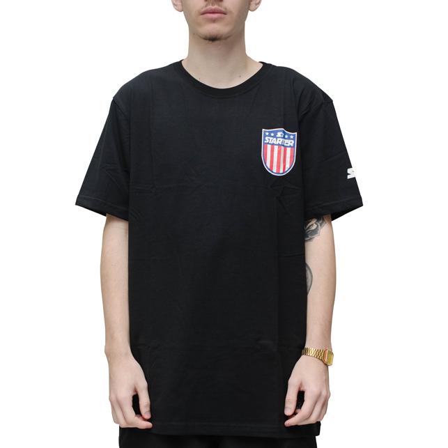 Camiseta Starter Brasão Preta
