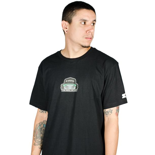Camiseta Starter Compton TRHH Preta