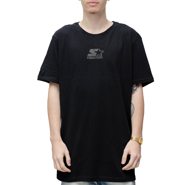 Camiseta Starter Especial Long Star Preta