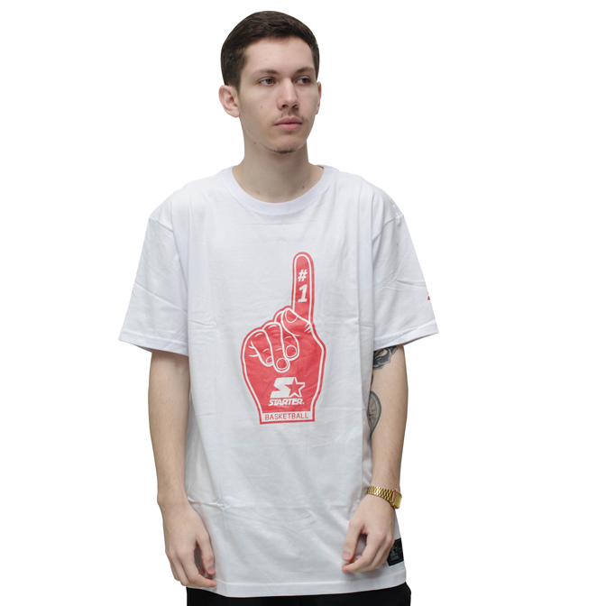 Camiseta Starter Fans Branca