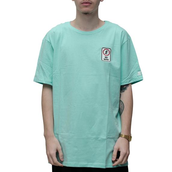 Camiseta Starter Go Skate Azul