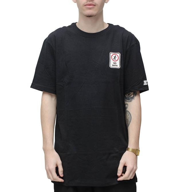 Camiseta Starter Go Skate Preta