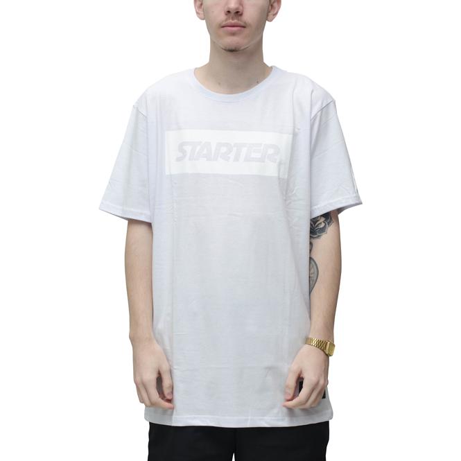 Camiseta Starter Sticker Branca