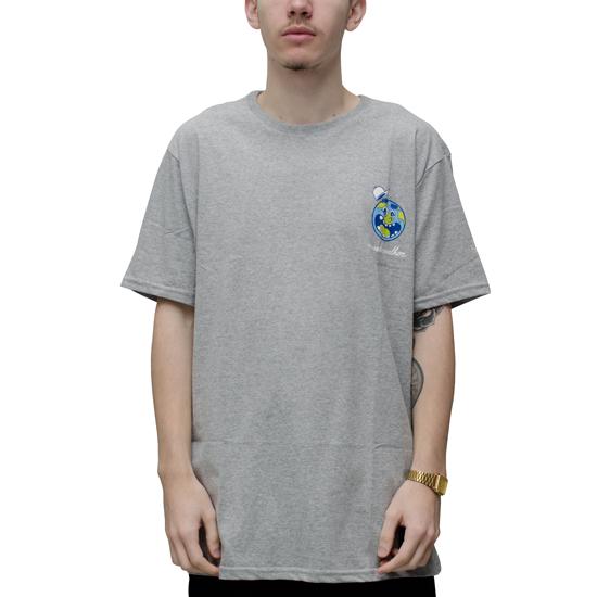 Camiseta Starter x Drots Mundo Melhor Cinza