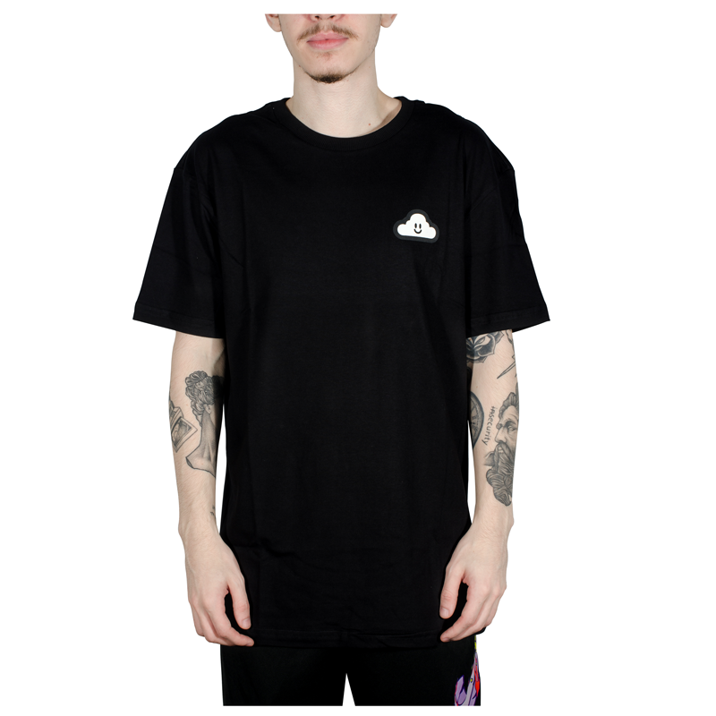 Camiseta Thank You Cloud Icon SS Preto