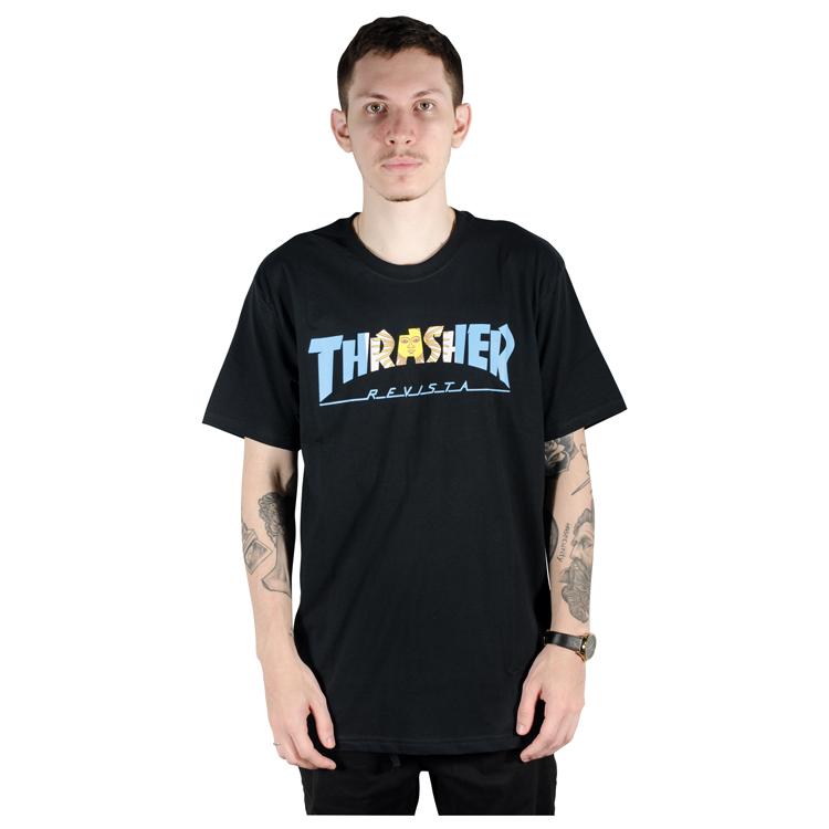 Camiseta Thrasher Argentina Preta