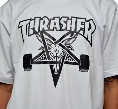 Camiseta Thrasher Goat Branca
