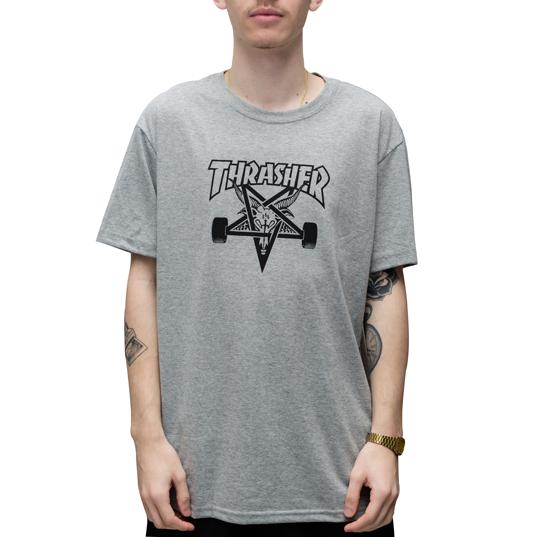 Camiseta Thrasher Goat Cinza