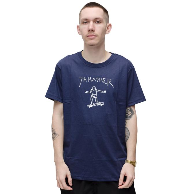 Camiseta Thrasher Gonz Azul