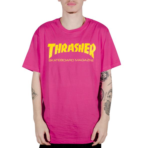 Camiseta Thrasher Skate Mag Pink